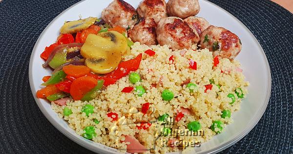 delicious vegetable couscous
