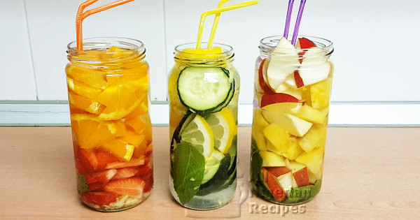 3 detox water recipes