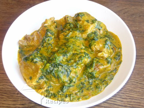 groundnut soup with veggies