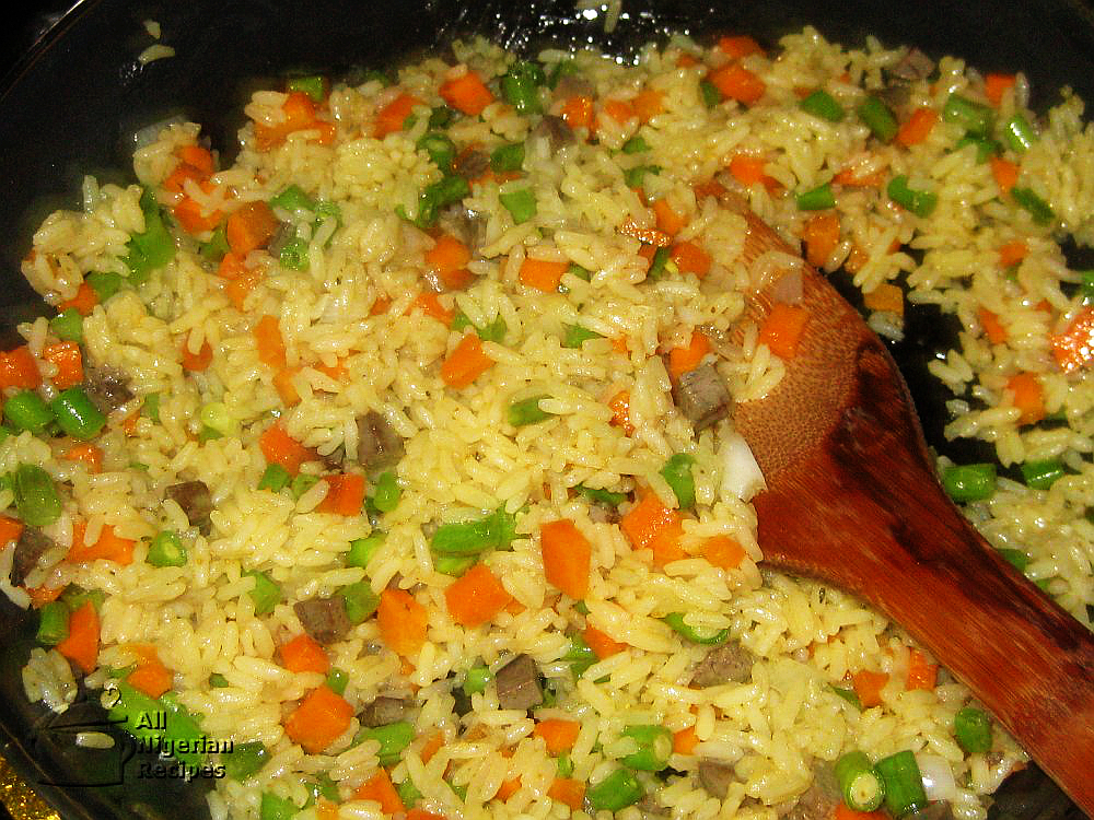 classic nigerian fried rice