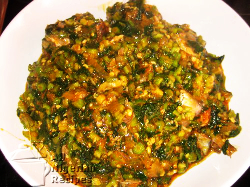 ogbono soup with okra