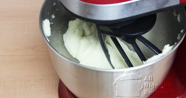 pounded yam with a stand mixer