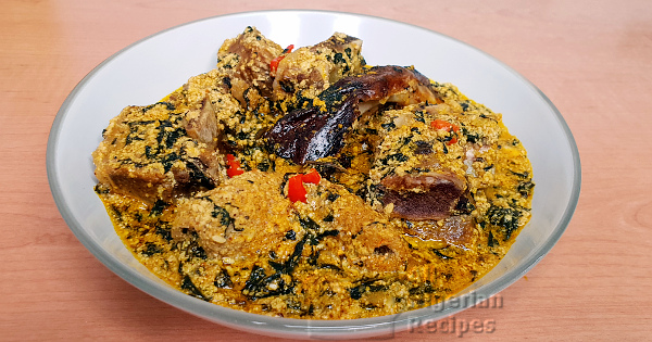 egusi and ogbono soup