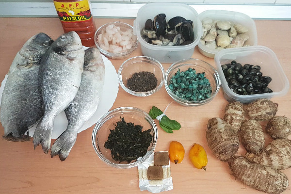 rivers native soup ingredients