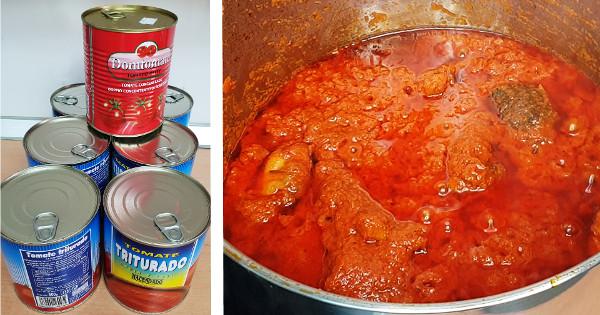 tinned tomato stew